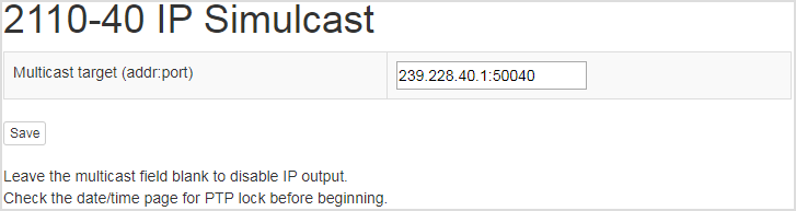 2110-40 module, licensed
